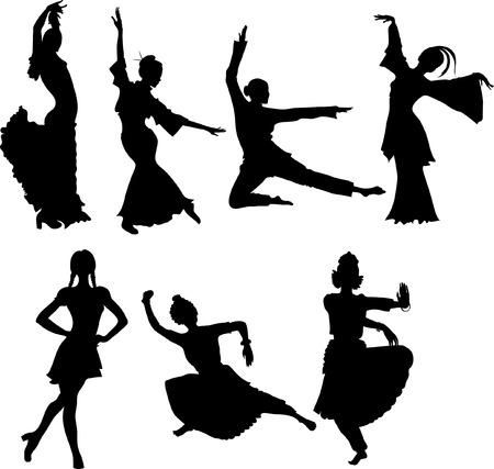 folk dance Stock Vector - 4311449