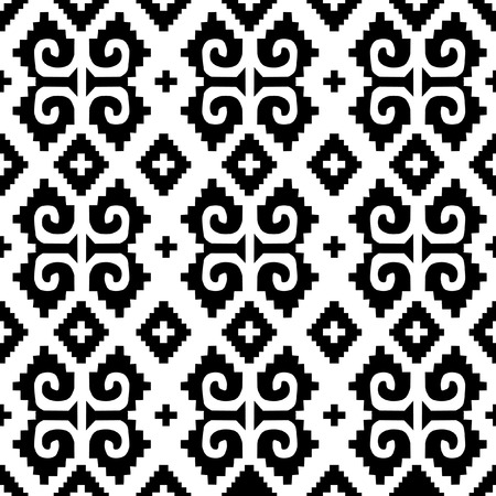Mexican black seamless background 3