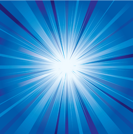 Abstract blue shining background Stock Vector - 4311538