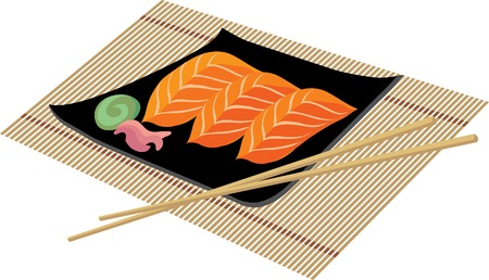 Sushi Stock Vector - 5072430