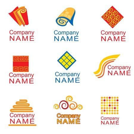 carpet: Logo design - carpets Illustration
