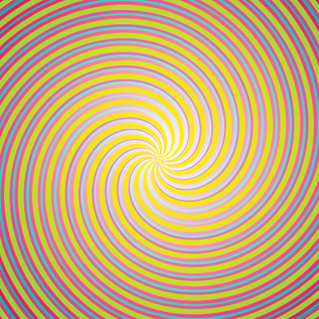 Cute colorful twirled background Vector