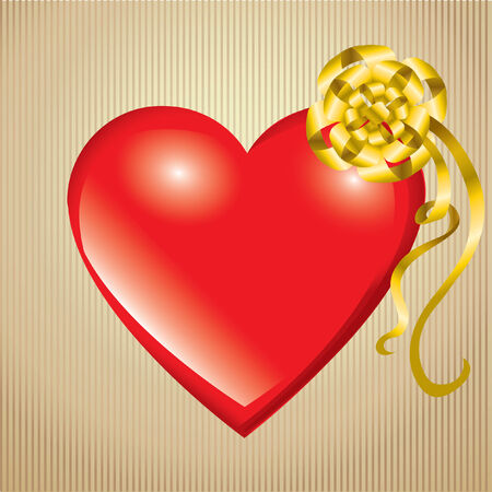 Saint Valentines Day. Heart  Vector