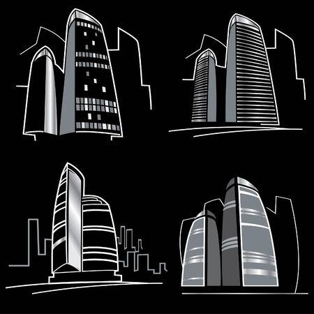 megapolis: City illustration