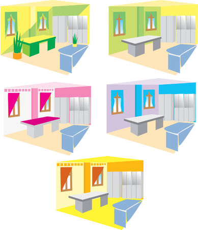 Interior design Stock Vector - 5145035