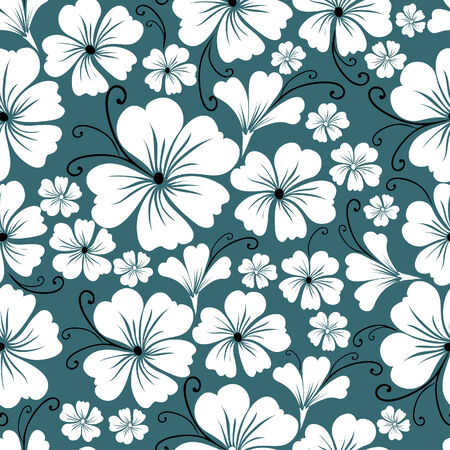 umber: Seamless vintage floral pattern (From my big Seamless collection) Illustration