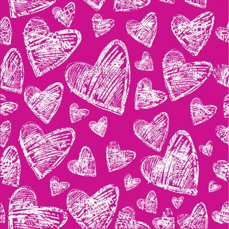 saint valentines: Seamless pattern con il cuore. Giorno di San Valentino. (Dal mio BIG