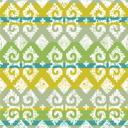 Vector grunge Mexican seamless pattern 4 (from my big seamless  Illustration