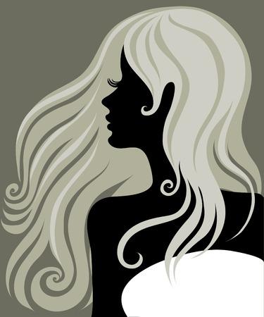 melancholy: CloseUp portret van een Cebus meisje met mooie haren