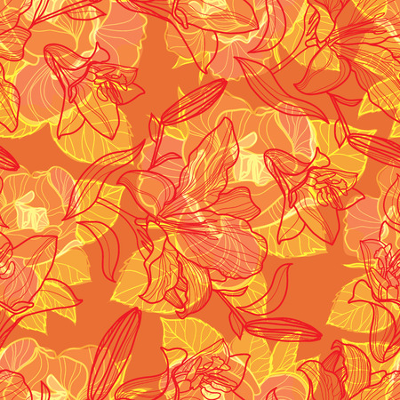 brie: Vector seamless floral pattern