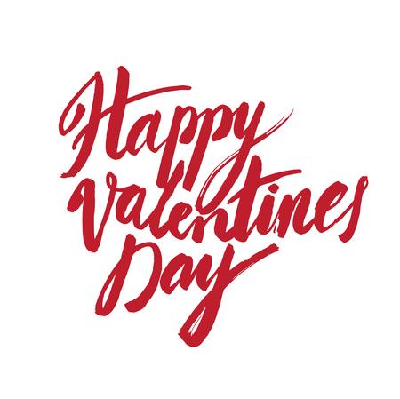 brush modern: calligraphy sign - Saint Valentines Day