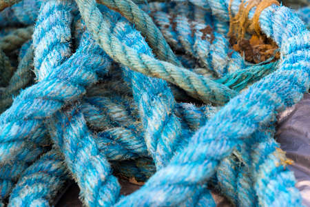 knotted and tangled ropes for fishery