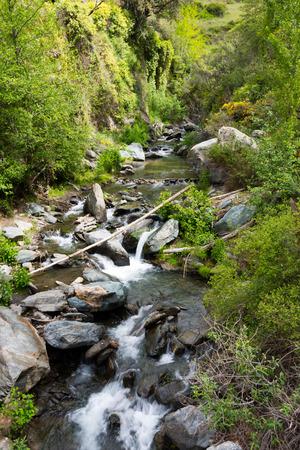 creek in sierra nevada, andalusia, spain Reklamní fotografie