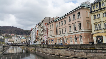 KarlovyVary very popular tourist destination in the Czech Republic , Karlovy Vary � World Famous Spa Town Editorial