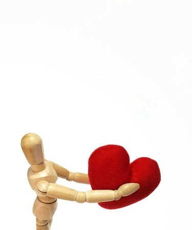 This heart i give it to you.Valentine day.I love you.holding a heart,love