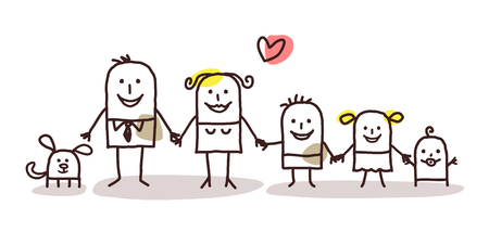 만화 가족