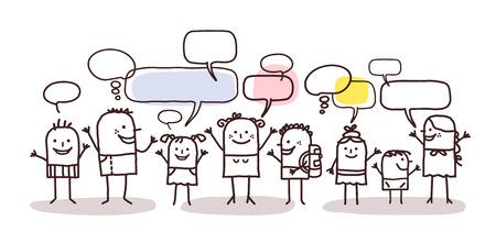 Niños y red social Foto de archivo - 52578640