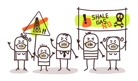 shale: people against shale gas extract