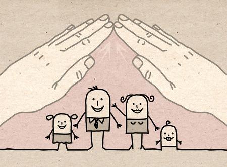 mutual aid: Big hand - roof