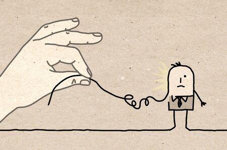 manipulate: Big hand - deconstruct
