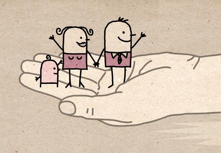 Big hand - kindness
