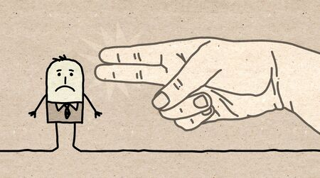 hand gun: Big hand - gun sign