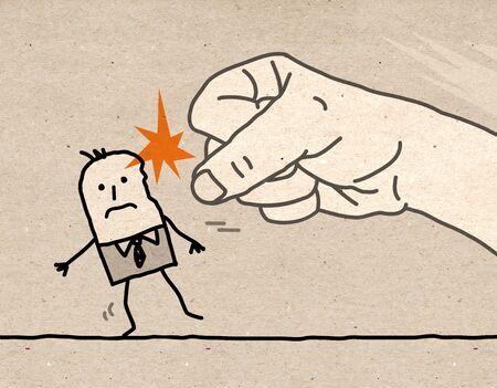 hit man: Big hand - violence