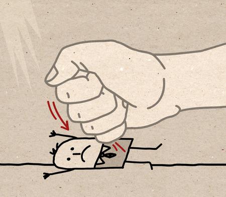 under pressure: Big Hand - under pressure