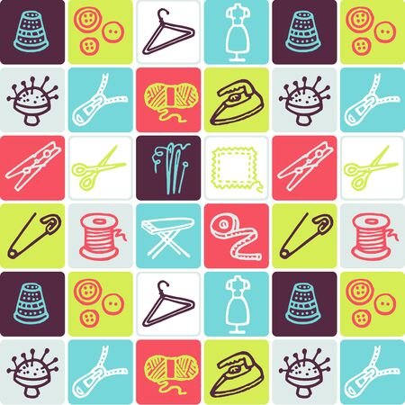 Hand Drawn Icons Set - Household Stock Vector - 98214037