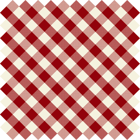 vector seamless checked pattern Çizim