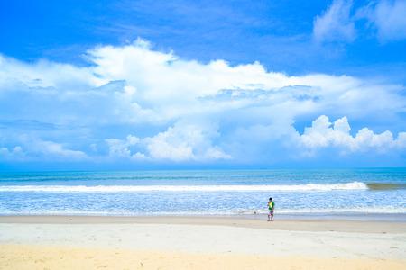 seashores: Tannirbhavi beach Stock Photo
