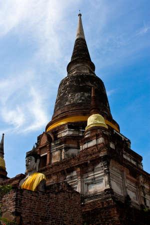 chaimongkol: Phra Chedi Chaimongkol Stock Photo