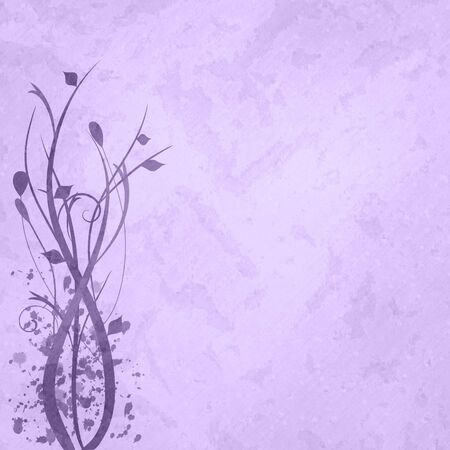 Purple floral background image. photo