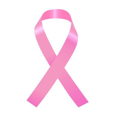 ribbon: Pink Ribbon Illustration