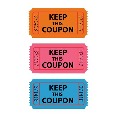 Coupon Illustration Stock Illustration - 6852139