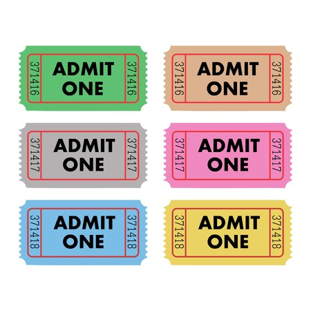 admit: Admit One Tickets
