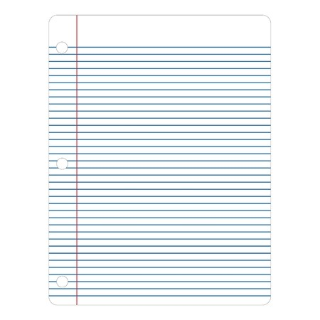 Notebook Paper Illustration Stock Illustration - 6884262