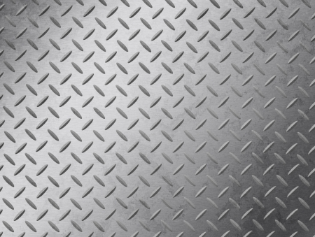 Image of a grungy diamond plate texture.