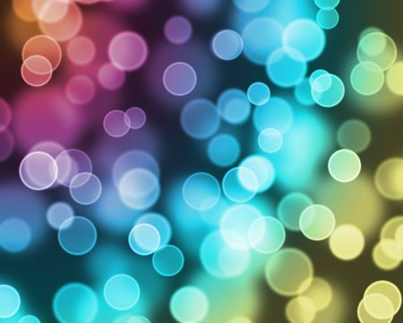 Abstract image of colorful bokeh light effect. Stock Photo - 7180183