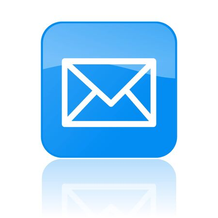 email icon: Mail Button Stock Photo