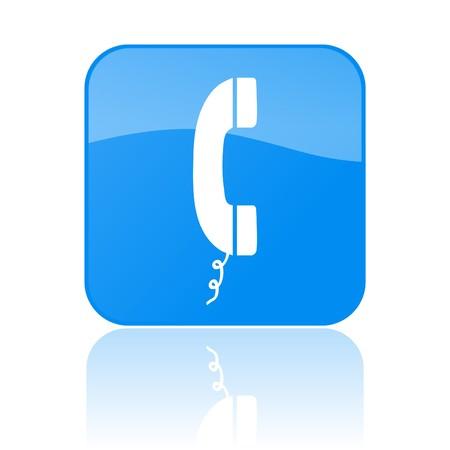 Phone Button Stockfoto