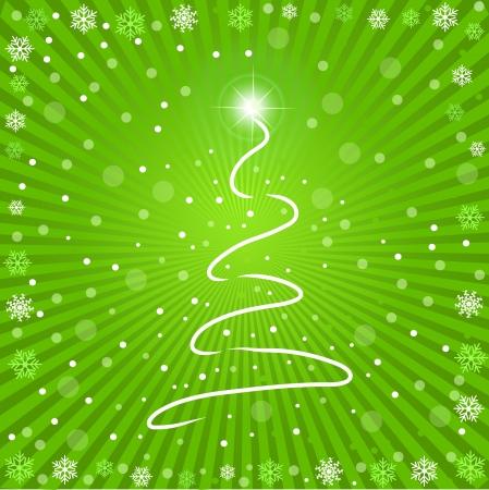 Imagen de un fondo multicolor de Navidad verde.  Foto de archivo