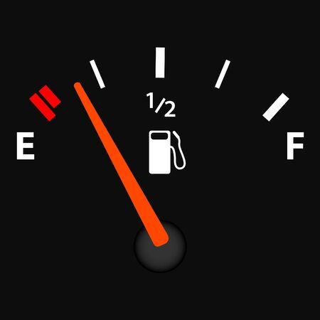 Afbeelding van de illustratie van een gas gage.