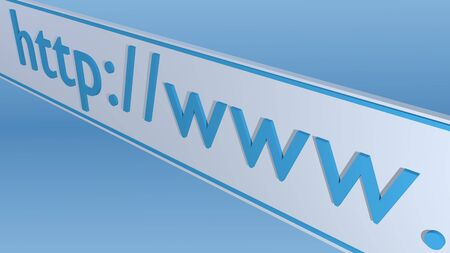 http: Image of the beginning of a web address on a colorful blue background.