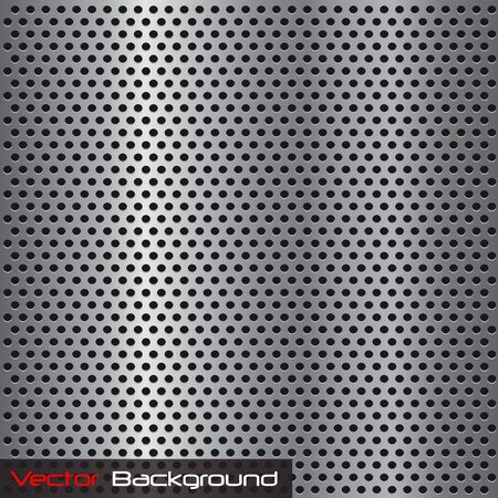 Imagen de una textura de metal plata parrilla de acero. Foto de archivo - 8602697