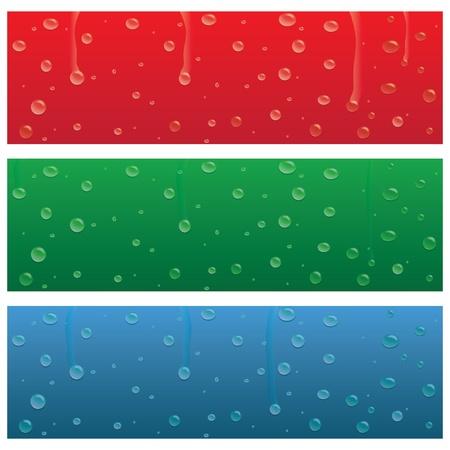 비가와 다양 한 다채로운 배너의 이미지 상품.