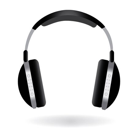 Image of headphones isolated on a white background. Stock fotó - 8855979