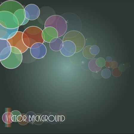 attern: Image of an abstract background with colorful circles.