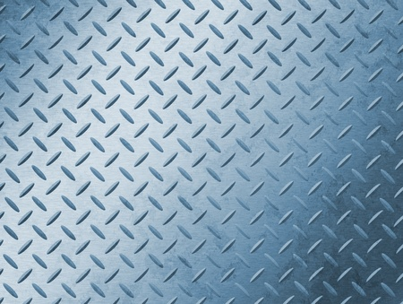 Image of a grungy diamond plate texture. photo