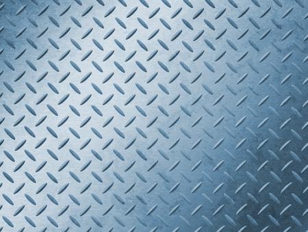 fake diamond: Image of a grungy diamond plate texture.
